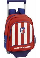 Mochila com Carro 705 Atlético de Madrid 1ª Equipamento Safta 611845020