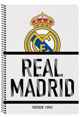 Gebundenes Folio-Notizbuch 80 B. Real Madrid Safta 511854066
