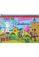 Colorea y Aprende a Dibujar Con Plantillas Susaeta S3396