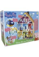 Peppa Pig Casa Gigante de Madera Bandai CO07004