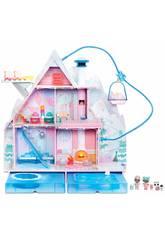 Chalet LoL Surprise Winter Disco Casa Delle Bambole Giochi Preziosi LLUA1000
