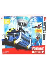 Fortnite Battle Bus avec Figurine Burnout y Funk Ops Giochi Preziosi FRT35000