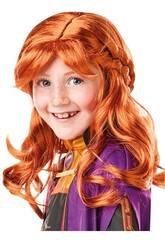Frozen II Parrucca Bambini Anna Rubies 300473