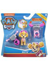 Paw Patrol Actions-Pack Pup And Badge Bizak