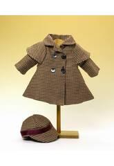Mantel und Hahnentrittschirm Set f
