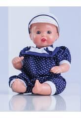Mini Juanin Bebé Pelele Marino Mariquita Pérez MJB05060