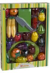 Set Frutas 30 Piezas