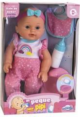 Bebè 30 cm La mia piccola fa pipì con accessori