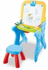Table Pupitre Tableau avec des Accessoires