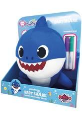 Peluche Baby Shark Doodle Me 30 cm Famosa 760018529