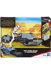 Star Wars Episodio 9 First Order Drive con Treadspeeder Hasbro E3030