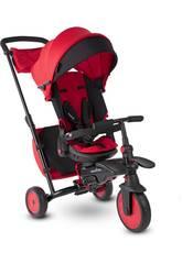 Triciclo STR7 J 7 em 1 Folding Trike Vermelho SmarTrike 5502202