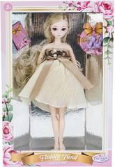 Muñeca Estilo Japón 29 cm. Falda Beige