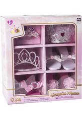 Conjunto Princesa 6 Acessórios