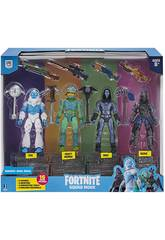Fortnite Pack 4 Figurines Squad Mode S2 Toy Partner FNT0109
