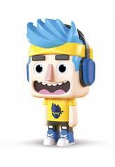 Ninja Figura AR Vinil + App Toy Partner 29002