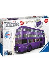 Puzzle 3D Autocarro Nocturno Harry Potter Ravensburger 11158