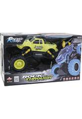 Radio Control 1:14 Coche Rock of Road Through 2.4 G Teledirigido