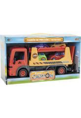 Camión Infantil con 4 Coches