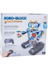Radio Control Smart Robot con 390 Bloques Teledirigido