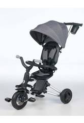 Triciclo Plegable Nova Gris Qplay T490