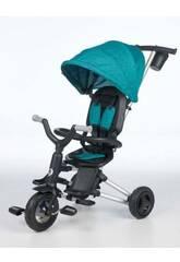 Triciclo Plegable Nova Verde QPlay T493