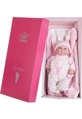Poupée Mon Petit Reborn Chauve 45 cm. Rose Petites Oreilles Berbesa 4554