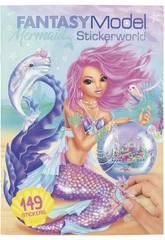 TopModel Mermaid Stickerworld 10846