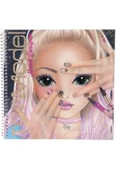 TopModel Create Your Hand Design Cuaderno para Colorear 10929