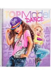 TopModel Carnet de Coloriage Dance 10959