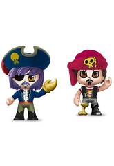 Pin and Pon Action Pack 2 Piratenfiguren von Famosa 700015644