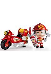 Pinypon Action Moto da Pompiere Famosa 700015636