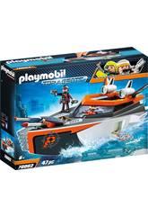 Playmobil Spyteam Turbonave 70002