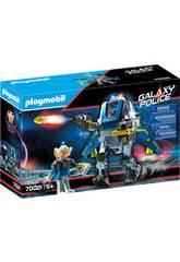 Playmobil Polícia Galactica Robô