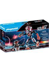 Playmobil Piratas Galacticos Robô 70024