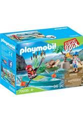 Playmobil Starter Pack Aventure en Canoë 70035