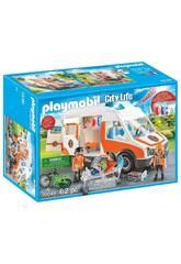 Playmobil Ambulanza con Luci 70049