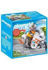 Playmobil Mota de Emergências 70051