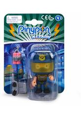 Pinypon Action Policía Figura Squad Eod Famosa 700015589