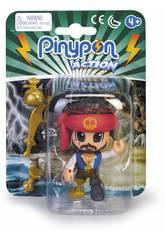 Pinypon Action Pirata con Bandana Roja Famosa 700015581