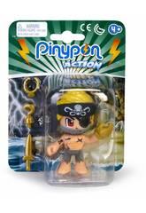 Pinypon Action Pirata Bandana Negra Famosa 700015581