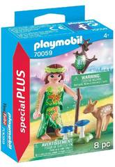 Playmobil Fée avec Faon 70059