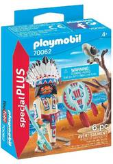 Playmobil Jefe Nativo Americano 70062