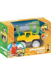 Playmobil Sand Bohrerfahrzeug 70064
