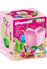 Playmobil Sand Secchio Fiore 70065