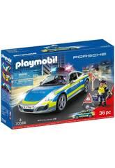 Playmobil Porsche 911 Carreira 4S Polícia 70066