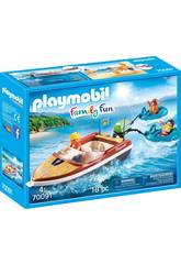 Playmobil Bateau avec Flotteurs 70091
