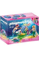 Playmobil Famille avec Poussette Playmobil 70100