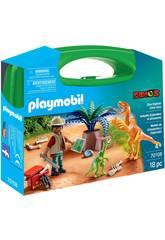 Playmobil Mallette Dinosaures et Explorateur Playmobil 70108