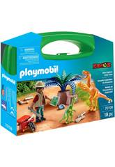 Playmobil Pasta Dinossáuros e Explorador Playmobil 70108